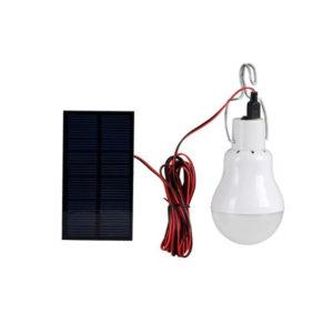 Lampe solaire suspendu