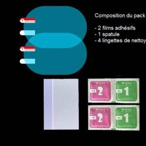 2 Films anti-pluie rétroviseurs